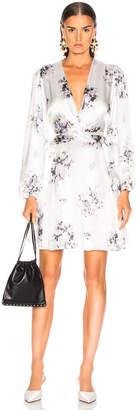 Ganni Cameron Dress in Egret | FWRD