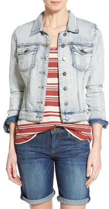 Women's Kut From The Kloth 'Helena' Denim Jacket $79 thestylecure.com