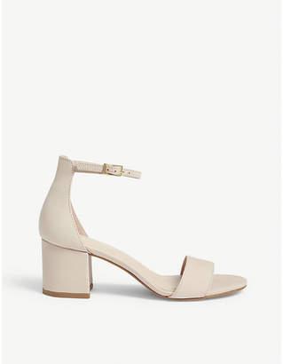 Aldo Villarosa suede block heel sandals