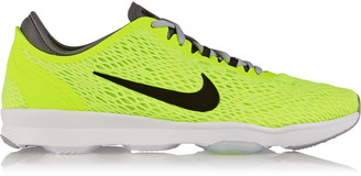 Nike Zoom Fit mesh sneakers $90 thestylecure.com