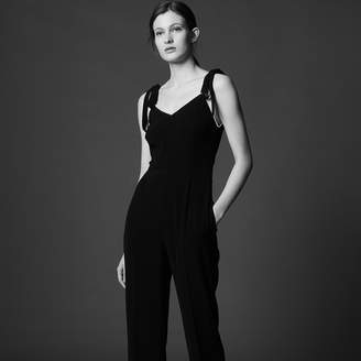 Sandro Jumpsuit with beaded straps
