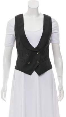 Rag & Bone Wool Button Up Vest