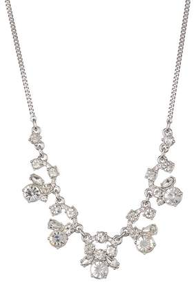 Givenchy Crystal Cluster Frontal Necklace