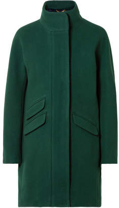 J.Crew Cocoon Wool-blend Coat - Forest green