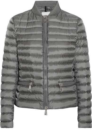 MonclerMoncler - Blen Quilted Shell Down Jacket - Gray