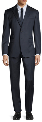Paul SmithWool Checkered Tailored Fit Suit