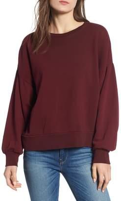 Hudson Cutout Back Sweatshirt