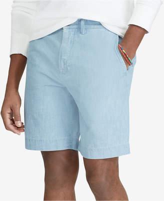 Polo Ralph Lauren Men's Big & Tall Classic Fit Chambray Shorts