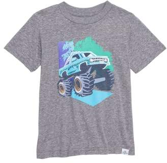 Kid Dangerous Monster Truck Jam T-Shirt