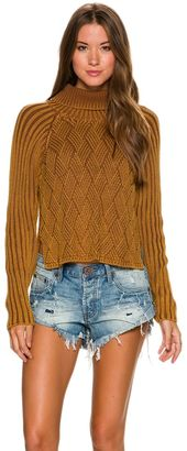 Rvca Mate Check Sweater $78.95 thestylecure.com
