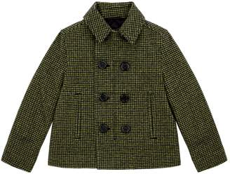 Burberry Check Tailored Coat