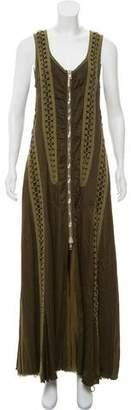 Alexander Wang Braided Zip-Accent Dress