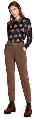 Scotch & Soda Stretch Lurex Trousers