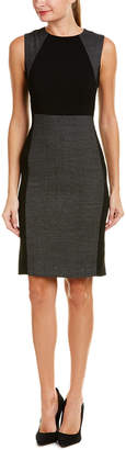 Hobbs Wool-Blend Sheath Dress