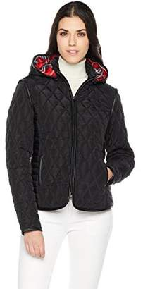 The Portland Plaid Co. Women's Short Lightweight Quilted Jacket XL