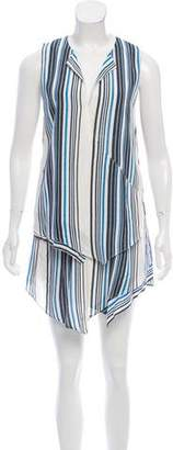 Torn By Ronny Kobo Sleeveless Layered Dress