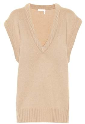 Chloé Cashmere short sleeve sweater