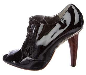 Dolce & Gabbana Patent Leather Booties