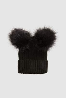 Next Girls Personalised Pom Pom Hat
