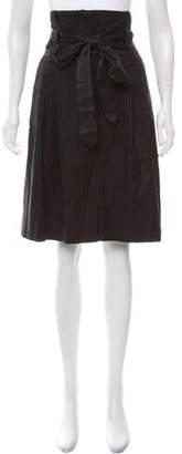 Dries Van Noten Wool Knee-Length Skirt