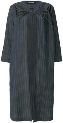 Ter Et Bantine pinstripe oversized coat