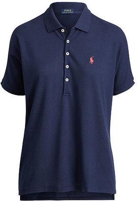 Polo Ralph Lauren Poncho Mesh Polo Shirt $98.50 thestylecure.com