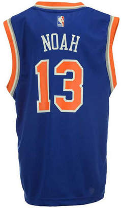 adidas Joakim Noah New York Knicks Revolution 30 Jersey, Big Boys (8-20) $50 thestylecure.com