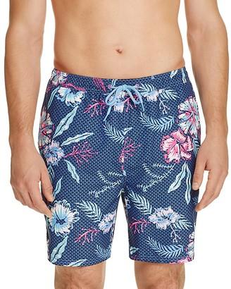 Vineyard Vines Aquatic Hibiscus Cabana Swim Trunks $89.50 thestylecure.com