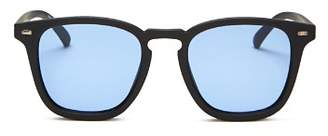 Le Specs No Biggie Modern Rectangle Sunglasses, 49mm - 100% Exclusive