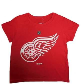 Reebok Detroit Wings Unisex Children's Hockey Logo T-Shirt, Years
