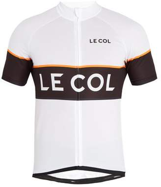 Le Col - Sport Zip Through Cycling Top - Mens - White Multi
