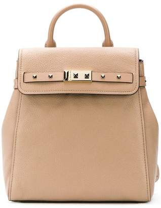 MICHAEL Michael Kors studded square backpack