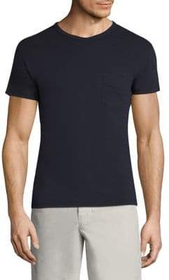 Officine Generale Regular-Fit Solid Cotton Tee