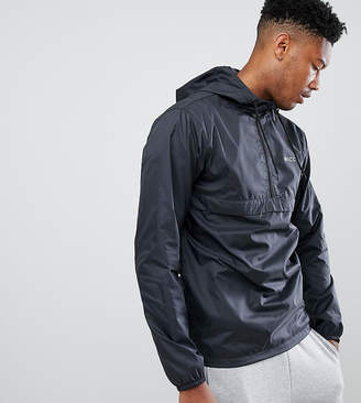 Nicce London windbreaker logo jacket in black exclusive to ASOS