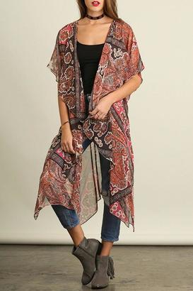 Umgee USA Kimono Sleeves Cardigan $39 thestylecure.com