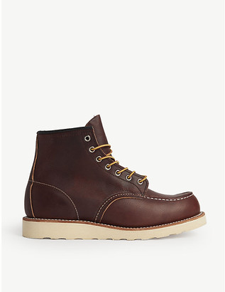 2f17667ab82 Mens Red Leather Boots - ShopStyle UK