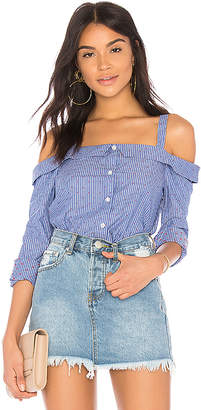BCBGeneration Off Shoulder Shirt
