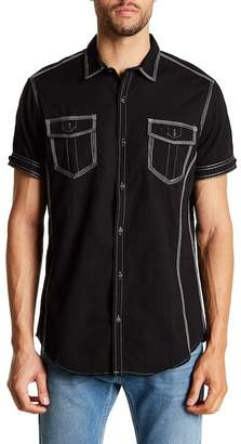 Burnside Novelty Short Sleeve Regular Fit Shirt