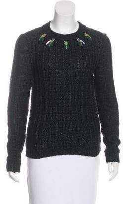 Tory Burch Lucy Embellished Sweater