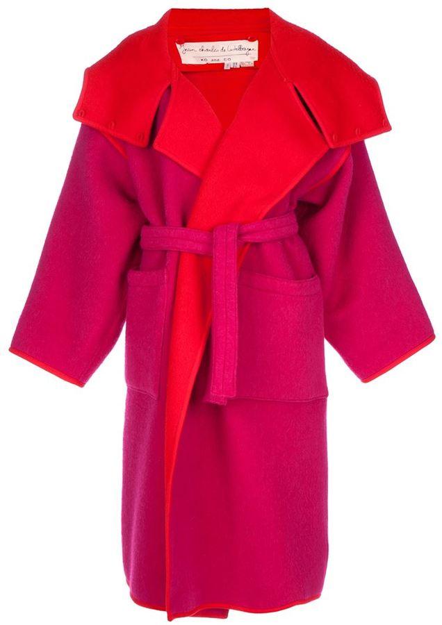 Jc De Castelbajac Vintage Oversize coat