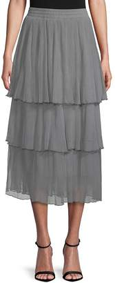 Zero Degrees Celsius Women's Mesh Layered Skirt