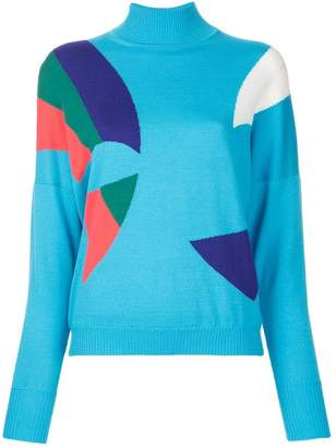 DELPOZO block colour sweater