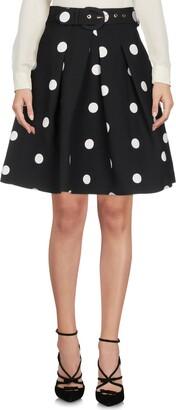 Moschino Knee length skirts - Item 35369609OG