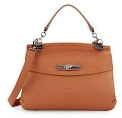 Longchamp Classic Leather Crossbody Bag