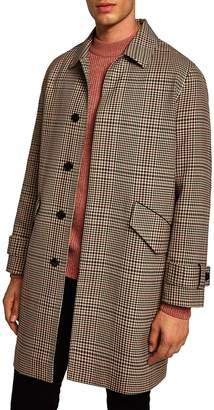 Topman Check Mac Jacket
