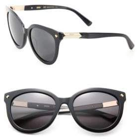 MCM 56MM Studded Round Sunglasses