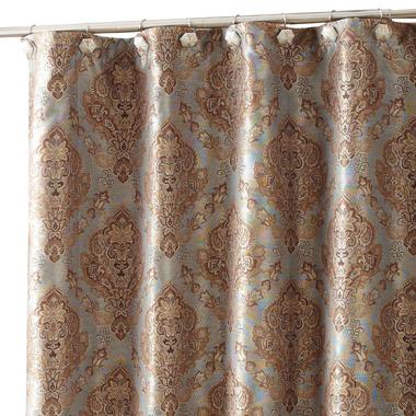 """Croscill Laviano 70"""" x 72"""" Fabric Shower Curtain"""