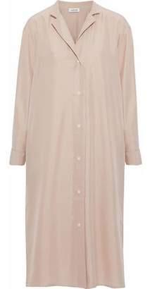 Totême Kenya Silk Shirt Dress