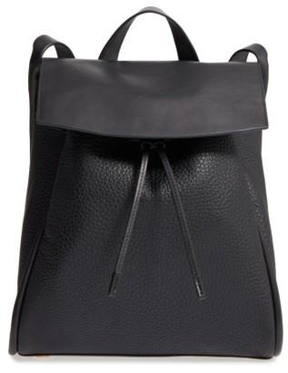 Skagen Ebba Leather Backpack - Black $295 thestylecure.com