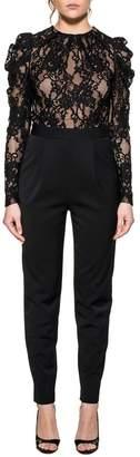 Michael Kors (マイケル コース) - Black Lace Jumpsuit